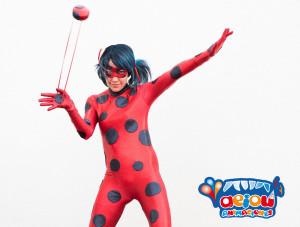 Consejos para una fiesta de superhéroes en el colegio-ladybug